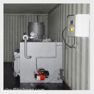 Containerized Mobile Incinerator