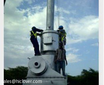 Incinerator Installation and Commissioning
